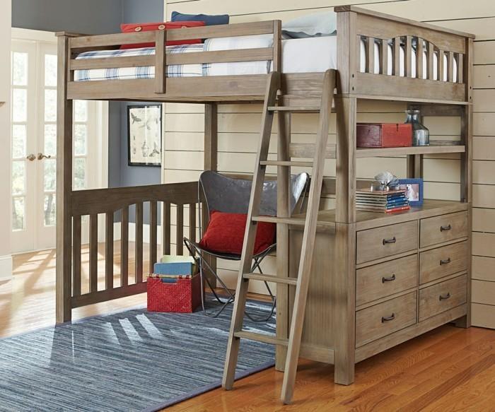hochbett mit schreibtisch funktionale betten finden. Black Bedroom Furniture Sets. Home Design Ideas