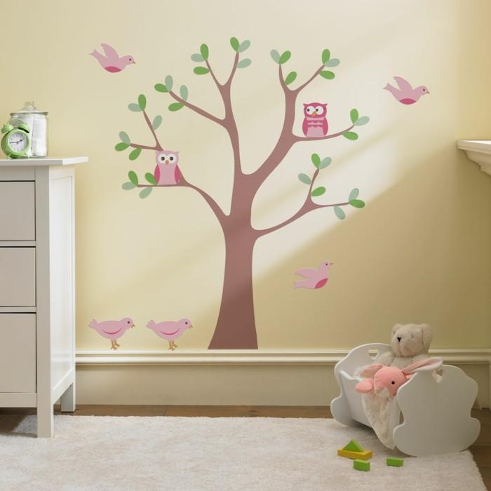 kinderzimmer deko ideen babyzimmer dekorieren cremefarbige wände