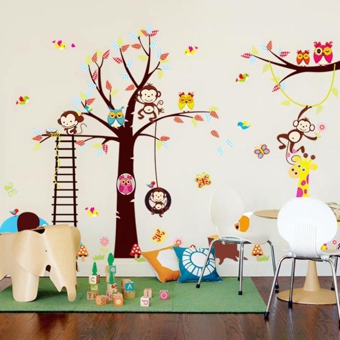 Perfekt 50 Deko Ideen Kinderzimmer U2013 Reichtum An Farben, Motiven Und Ideen  Charakterisiert Das Kinderzimmer | Dekoration ...