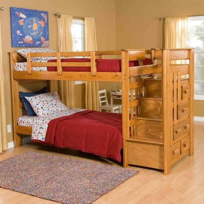 Kinderzimmer holz  Kinderzimmer mit Hochbett einrichten für eine optimale Raumgestaltung