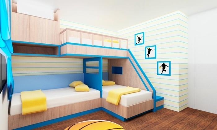 Kinderzimmer mit Hochbett einrichten für eine optimale Raumgestaltung | {Bett kinderzimmer 2}