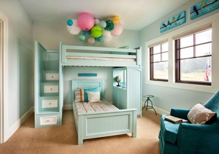 Kinderzimmer mit Hochbett einrichten für eine optimale Raumgestaltung