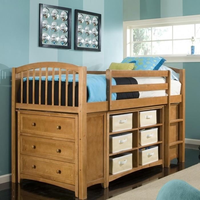 Kinderzimmer mit Hochbett einrichten für eine optimale ...