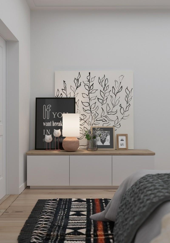 kleine Wohnung einrichten Ideen Schlafzimmer Möbel