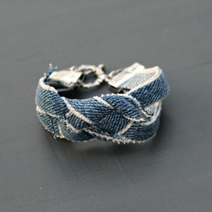 kreativ basteln armband nähen ideen