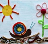Basteln mit Kindern – 44 Bastelideen, welche Groß und Klein froh machen