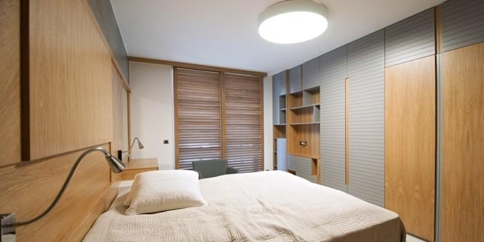 lampe schlafzimmer deckenbeleuchtung stauraum kleines schlafzimmer