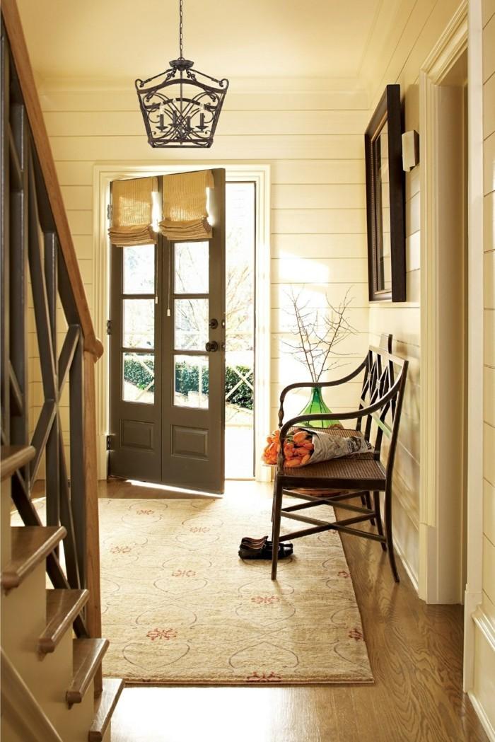 lampen flur durch passende flurbeleuchtung einen sch nen eindruck machen. Black Bedroom Furniture Sets. Home Design Ideas