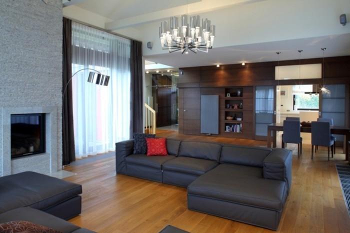 Wohnzimmer Lampen - 66 Ausgefallene Ideen für die Beleuchtung des ...