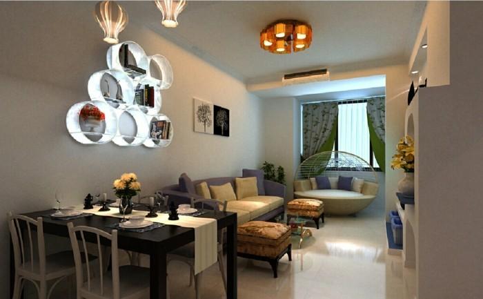 wohnzimmer lampen 66 ausgefallene ideen f r die. Black Bedroom Furniture Sets. Home Design Ideas