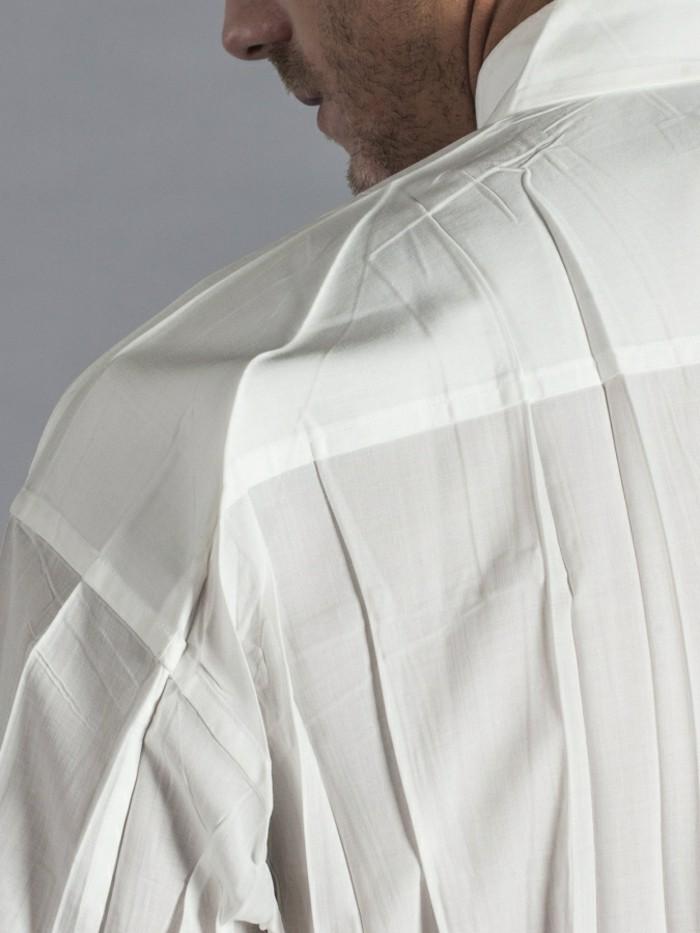 männermode herrenmode weißes hemd bügeln