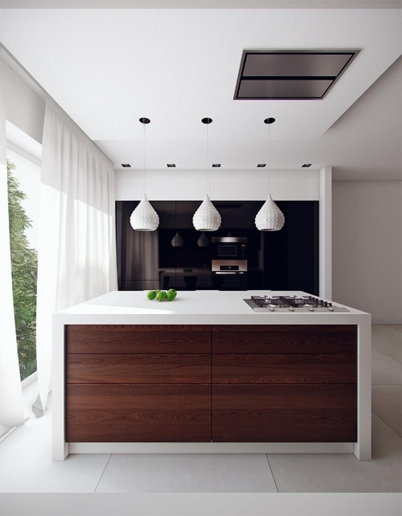 minimalistisches Küchendesign Kücheneinrichtungen für Männer