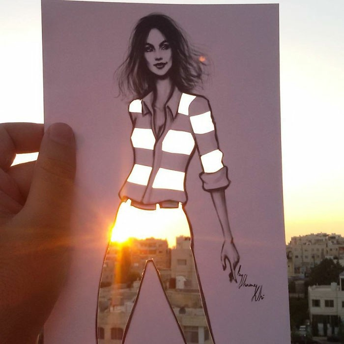 mode-zeichnen-damenmode-casual-fashion
