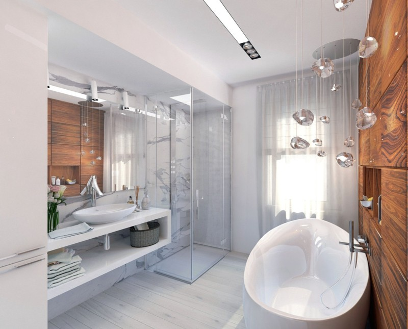 moderne Bäder Luxus Badezimmer einrichten Badmöbel