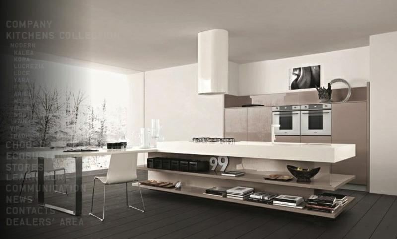 modernhes Küchendesign Kücheneinrichtung Ideen für Männer