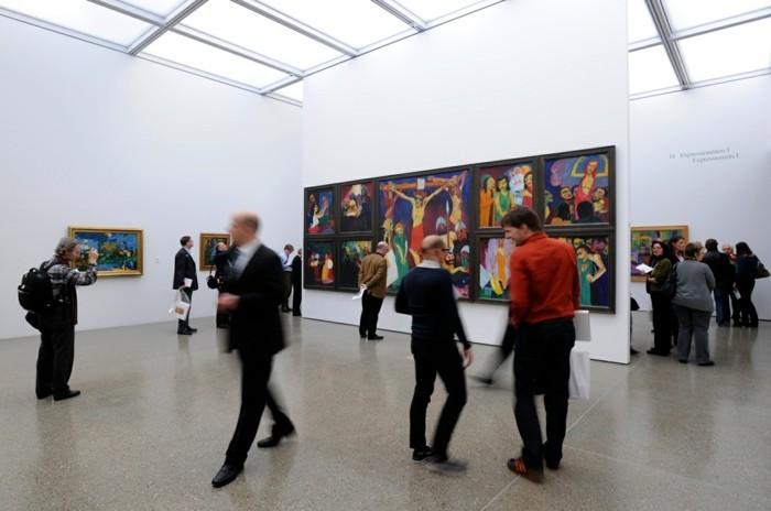 museum folkwang museum eingang ausstellungshalle