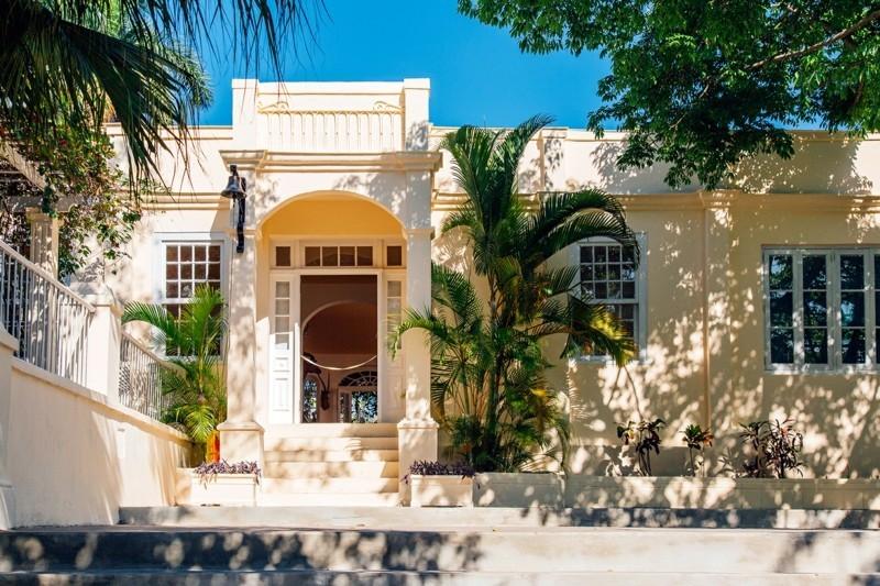 nach Kuba reisen Hemingway Haus außen