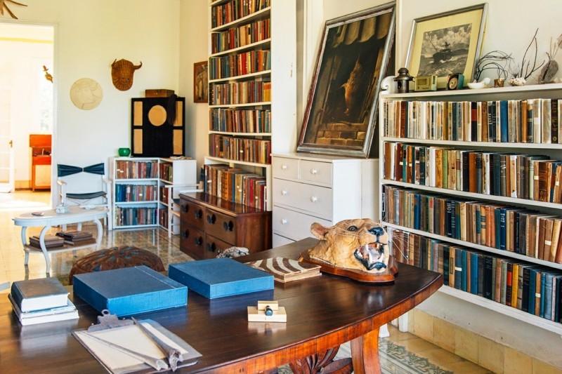nach Kuba reisen Hemingway Haus innen