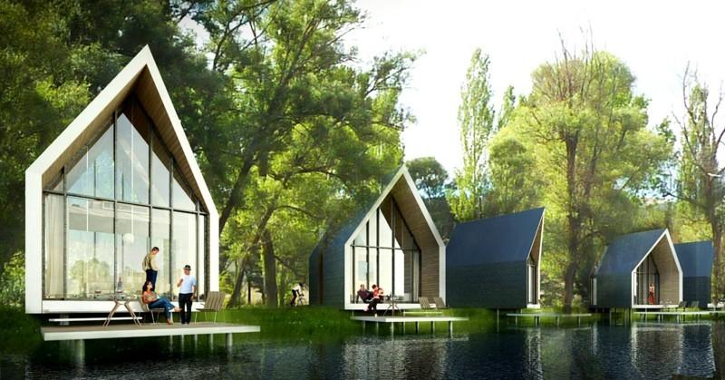 nachhaltige Architektur gesundes Leben Bauen und Leben Energie sparen
