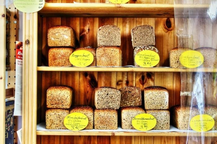 nachhaltiger Konsum brot bäckerei