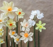 Papierblumen basteln mit viel Geduld und Liebe zum Detail
