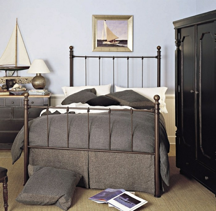 schlafzimmer deko ideen wanddeko accessoires teppichboden