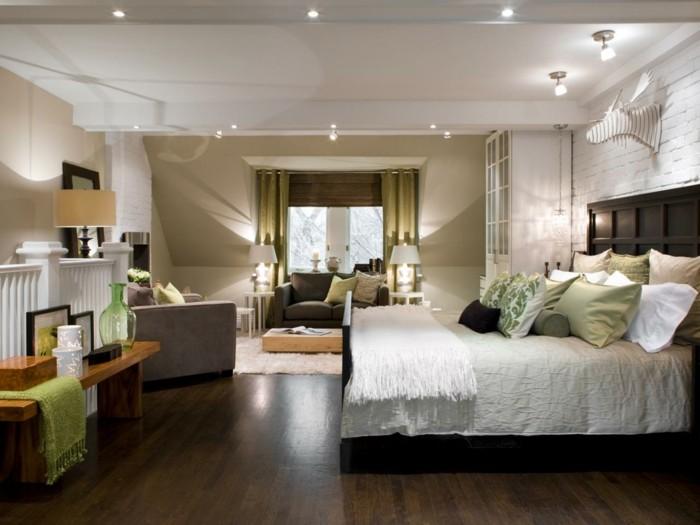 Schlafzimmer Lampe Gesucht U2013 44 Beispiele, Wie Schlafräume Schön Beleuchtet  Werden ...