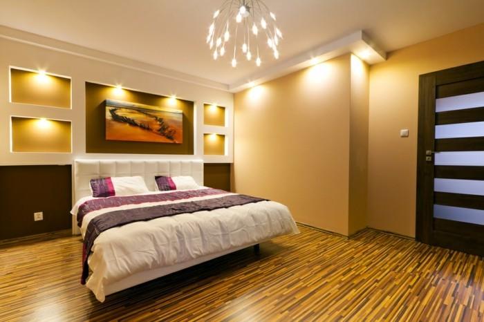 schlafzimmer lampe schöne beleuchtung dekoideen