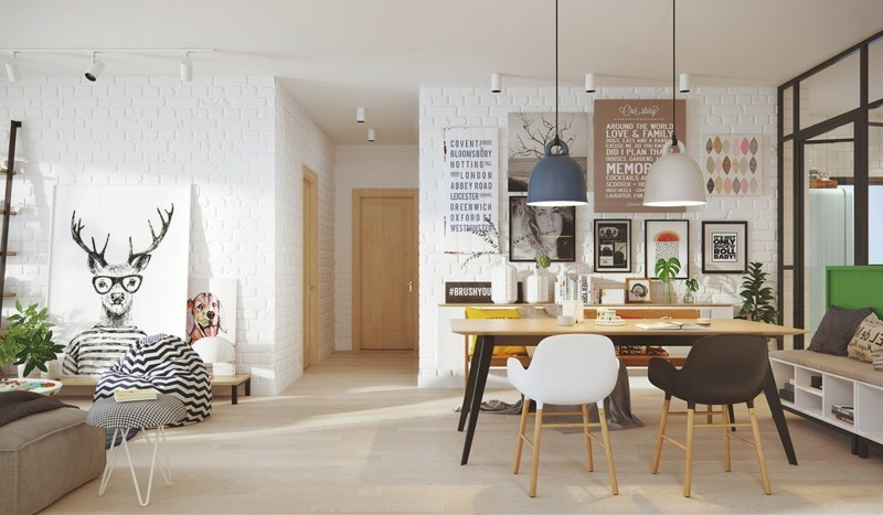 skandinavisch wohnen inspirierende einrichtungsideen. Black Bedroom Furniture Sets. Home Design Ideas