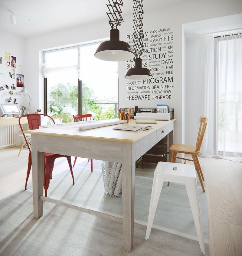 skandinavisch wohnen Esszimmer skandinavische Möbel