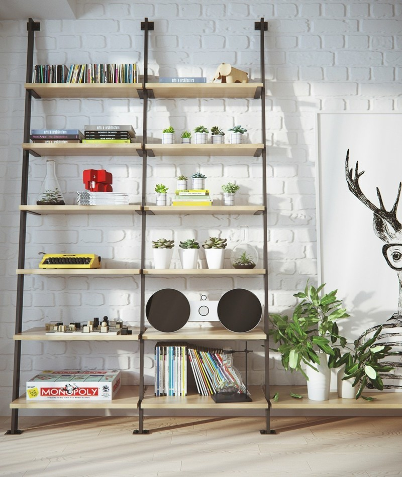 skandinavisch wohnen Wohnzimmer Möbel skandinavische Deko