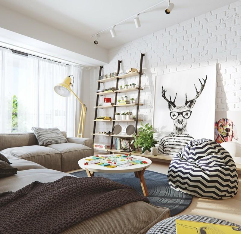 Wohnzimmer Ideen Skandinavisch Amped For
