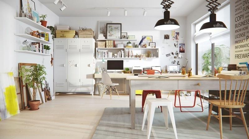 wohnideen im skandinavischen design und wohnstil. wohnzimmer ...