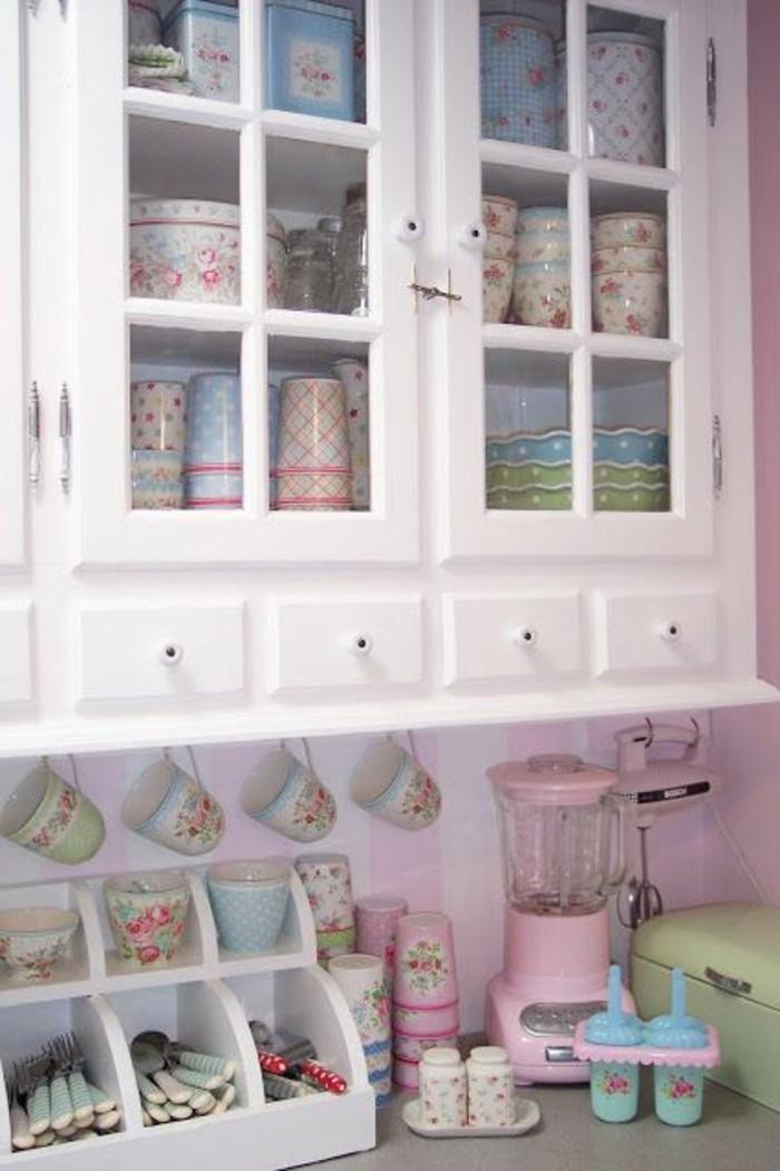 tischdeko sommer kollektion greengate shabby chic stil kücheneinrichtung