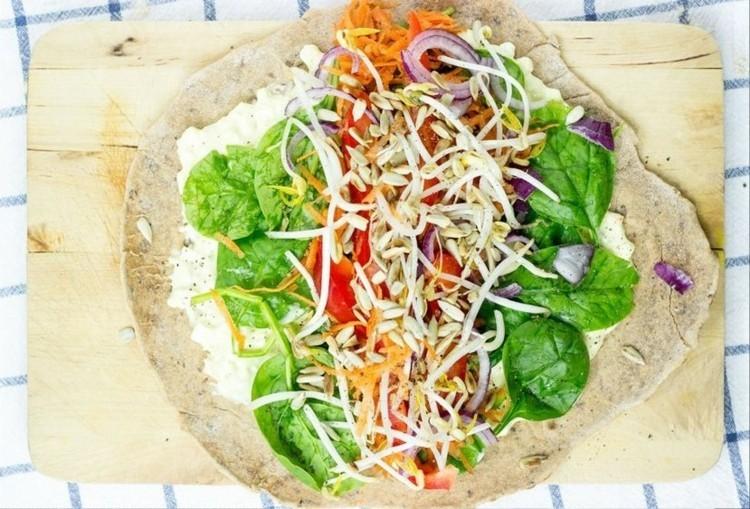 vegetarisches Essen und gesund abnehmen gesunde Ernährung