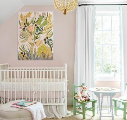 Wohnideen W Nde Gestalten vintage teppich ideen mit schönen textilien und mustern für einen vintage hauch