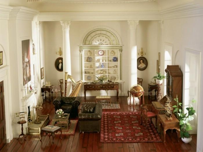 vintage teppich - ideen mit schönen textilien und mustern für ... - Wohnzimmer Ideen Vintage