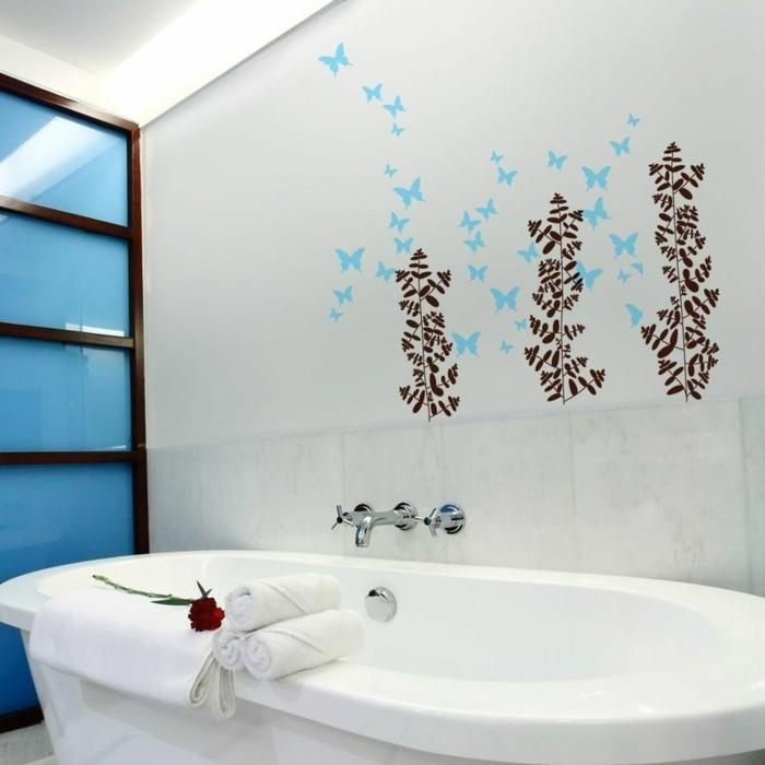 wände dekorieren dekoideen badezimmer