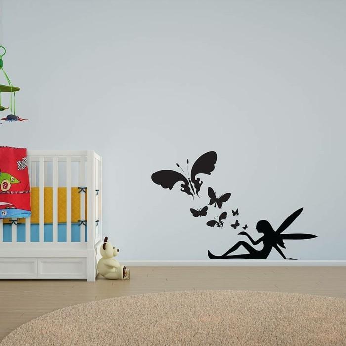 wände dekorieren dekoideen kinderzimmer wandtattoos