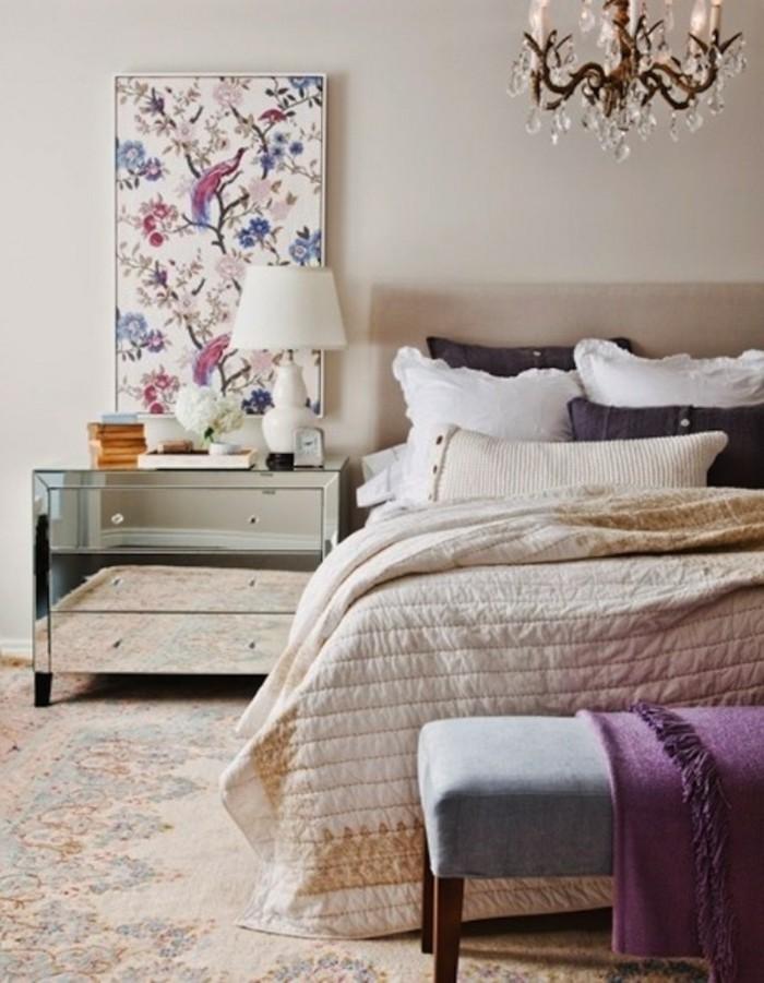wände dekorieren dekoideen schlafzimemer farbig frisch mädchenzimmer