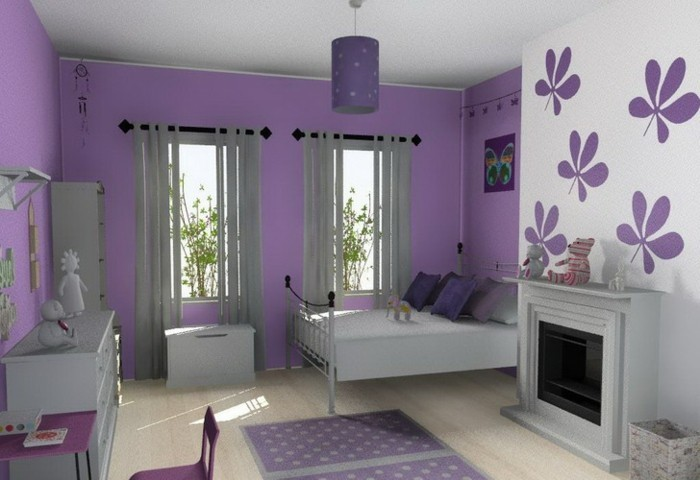 w nde dekorieren 43 wanddeko ideen mit leinw nden tellern und fotos. Black Bedroom Furniture Sets. Home Design Ideas