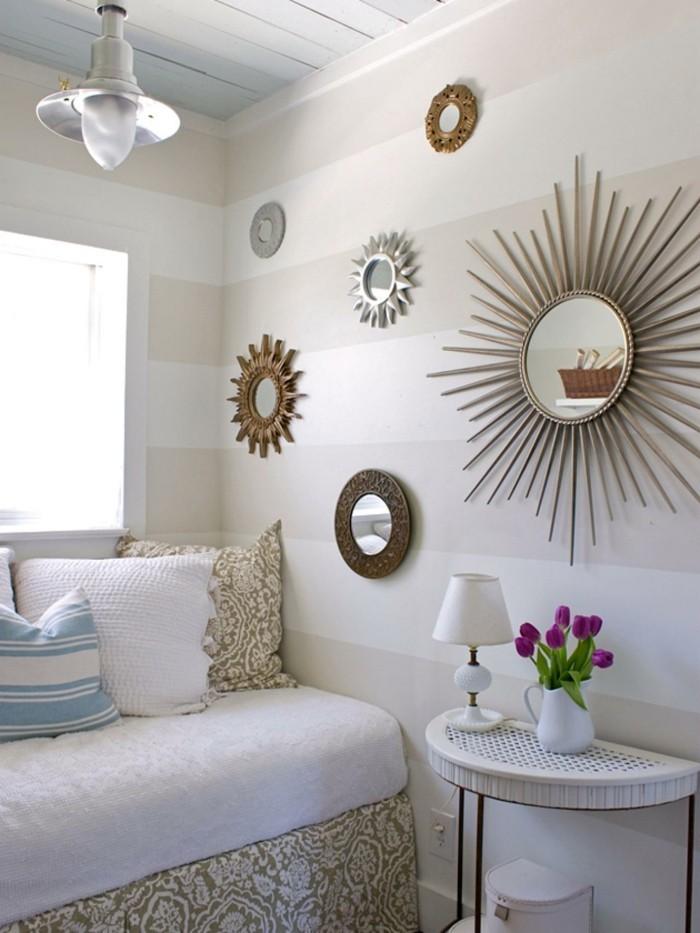 w nde dekorieren 43 wanddeko ideen mit leinw nden. Black Bedroom Furniture Sets. Home Design Ideas