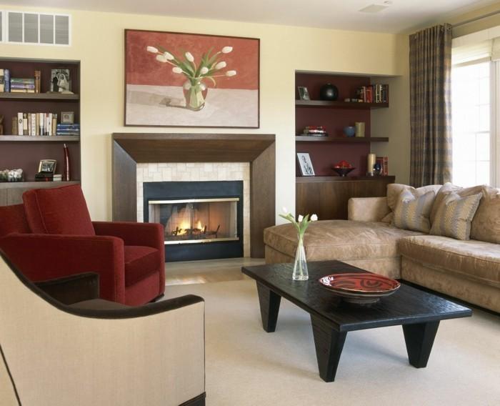 wandbilder wohnzimmer 33 ideen wie sie die wohnzimmerw nde mit wandbildern dekorieren. Black Bedroom Furniture Sets. Home Design Ideas