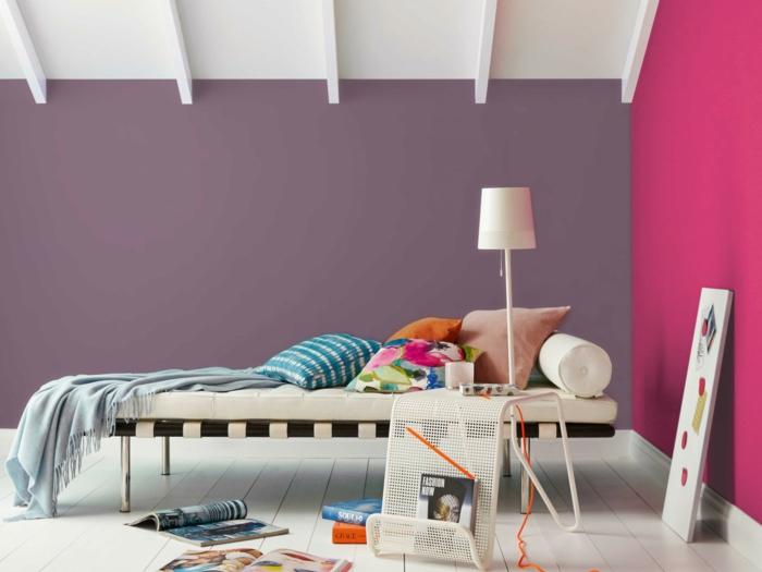 flieder wandfarbe good baum mit vgeln von auf dawandacom with flieder wandfarbe excellent. Black Bedroom Furniture Sets. Home Design Ideas