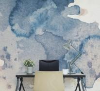 wandmalerei macht das wohnzimmer noch wohnlicher - 30 beispiele ... - Wandgestaltung Wohn