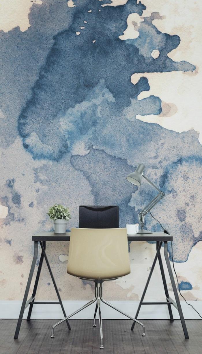 Wandmalerei macht das wohnzimmer noch wohnlicher 30 beispiele f r sch nes wanddesign - Wandmalerei ideen ...