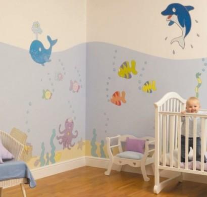 Wandmalerei Kinderzimmer - 21 Ideen, wie Sie eine ganz spezielle ...