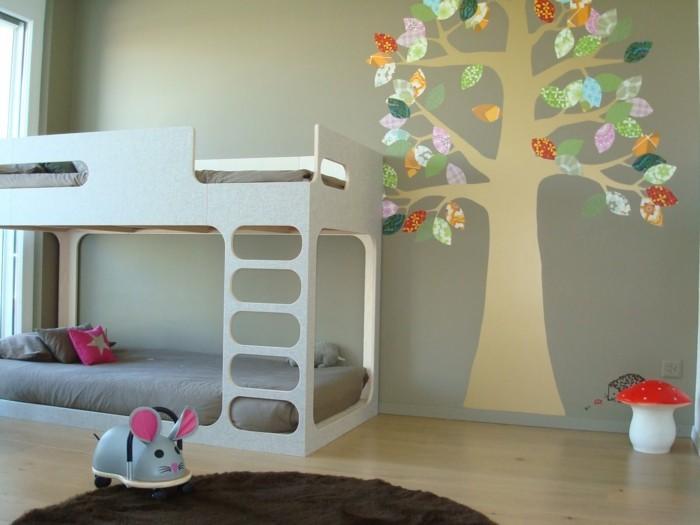 kinderzimmer braun kreative deko ideen und innenarchitektur. Black Bedroom Furniture Sets. Home Design Ideas