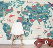 Wandmalerei im Kinderzimmer – 21 Ideen, wie Sie eine ganz spezielle Raumatmosphäre schaffen
