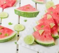 10 Sommer Rezepte, mit denen Sie die Wassermelone erfrischend anders genießen